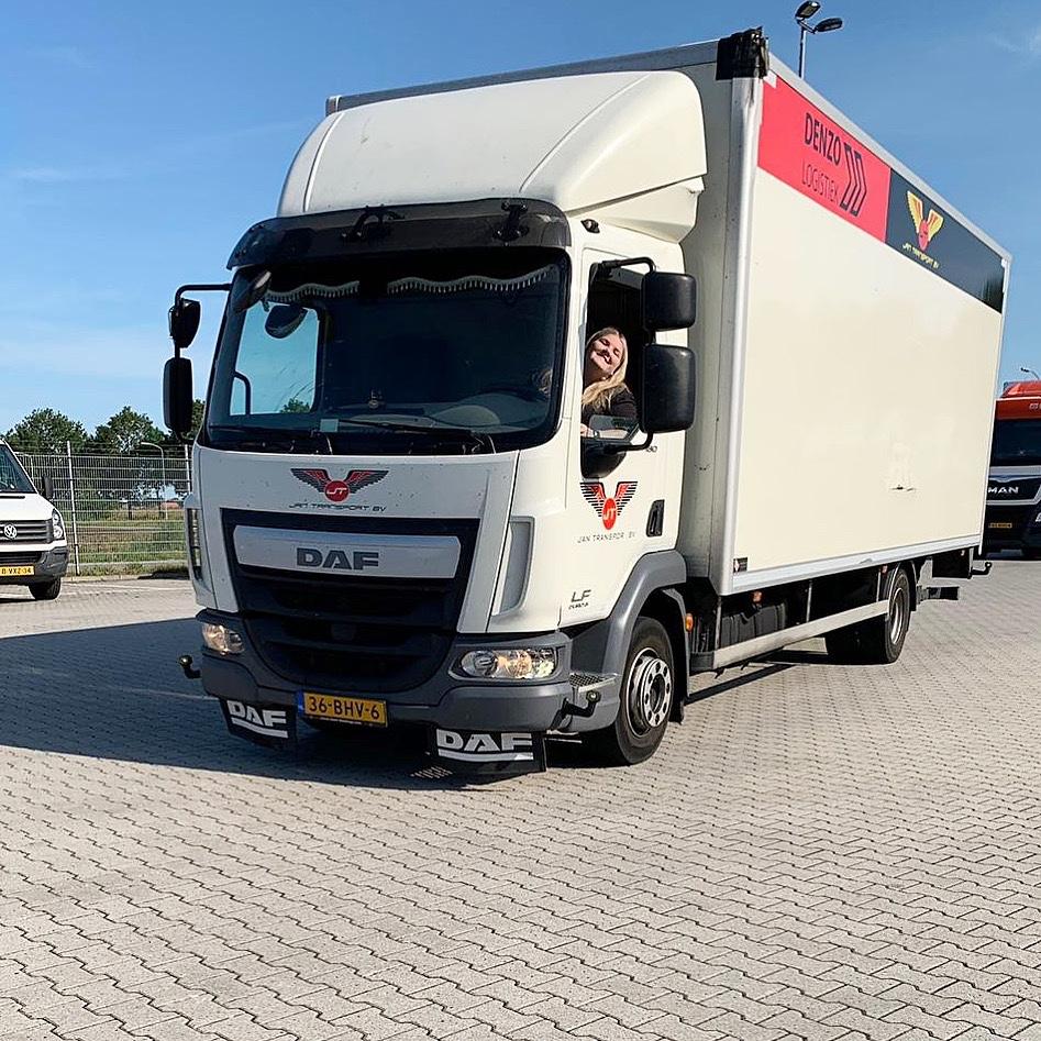Vrachtwagenchauffeur